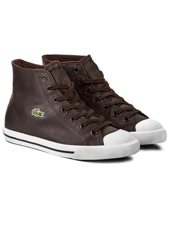 Lacoste Lacoste Кецове L27 Mid HHI SPW 7-28SPW1132DB2 Кафяв