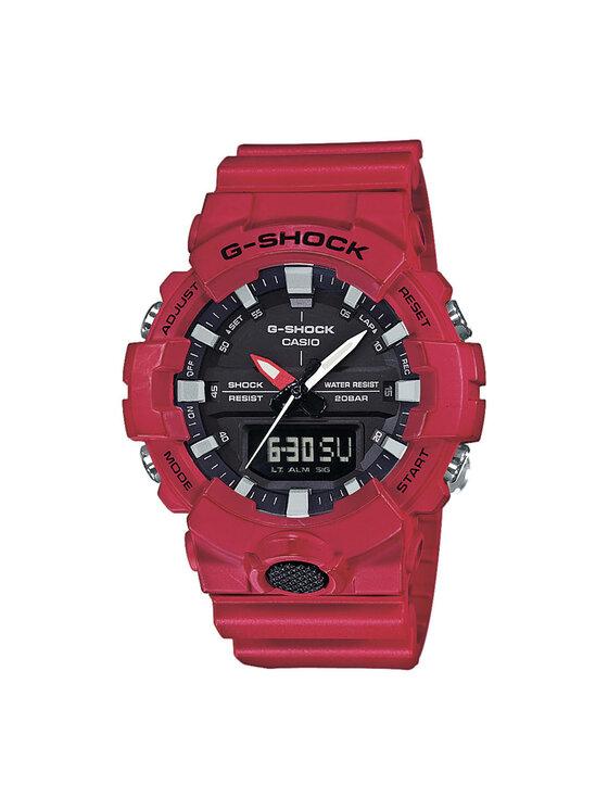 G-Shock Laikrodis GA-800-4AER Raudona