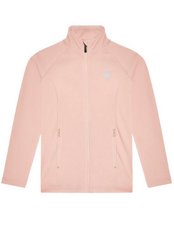 Rossignol Fliso džemperis RLIYL02 Rožinė Classic Fit