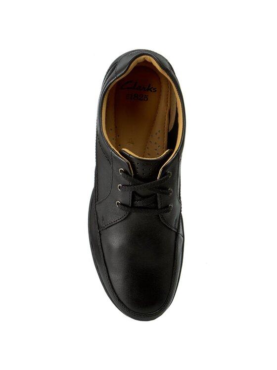 Clarks Clarks Κλειστά παπούτσια Recline Out 203531428 Μαύρο