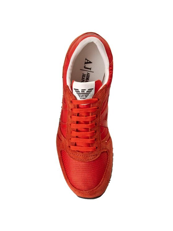 Armani Jeans Armani Jeans Sneakersy A6524 26 U9 Pomarańczowy