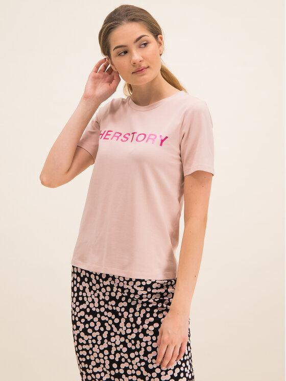 Laurèl Marškinėliai 41032 Rožinė Regular Fit