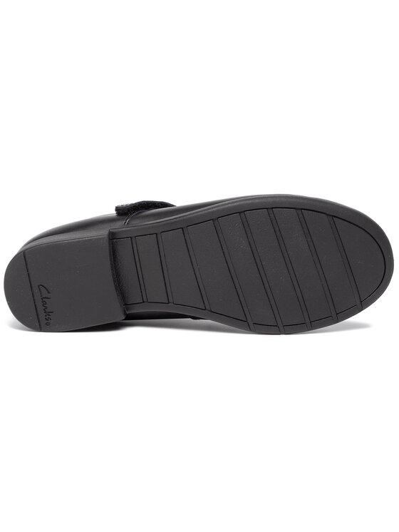 Clarks Clarks Κλειστά παπούτσια Scala Pure K 261428476 Μαύρο
