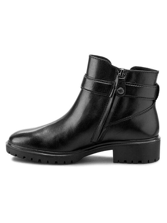 Geox Geox Členková obuv D Peaceful B D640GB 00043 C9999 Čierna