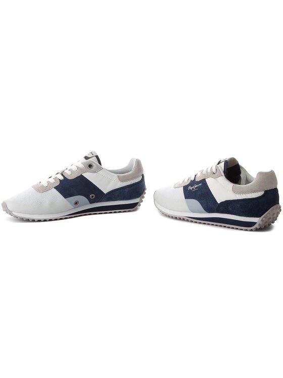 Pepe Jeans Pepe Jeans Sneakersy Garret Sailor PMS30405 Bílá