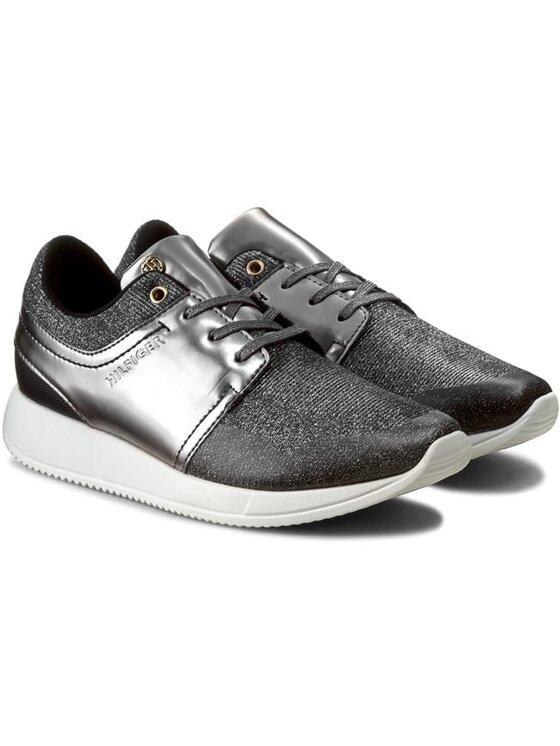 Tommy Hilfiger Tommy Hilfiger Sneakersy Samantha 2C1 FW56821998 Strieborná