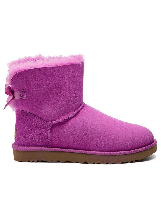 Ugg Ugg Pantofi W Mini Bailey Bow II 1016501 Roz