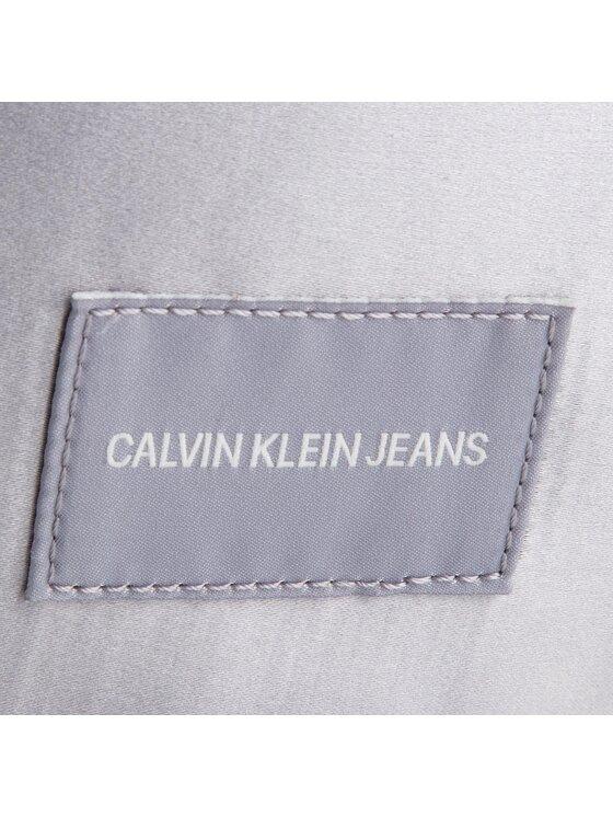 Calvin Klein Jeans Calvin Klein Jeans Saszetka nerka Satin Streetpack K40K400822 Srebrny