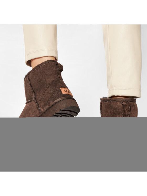 Ugg Ugg Pantofi W Classic Mini II 1016222 Maro