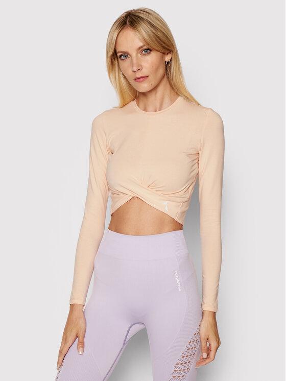 Carpatree Techniniai marškinėliai Gaia GLT-P Oranžinė Slim Fit