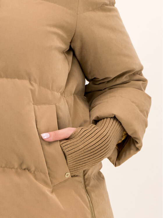 Pennyblack Pennyblack Vatovaná bunda Ajaccio 24845019 Hnědá Regular Fit