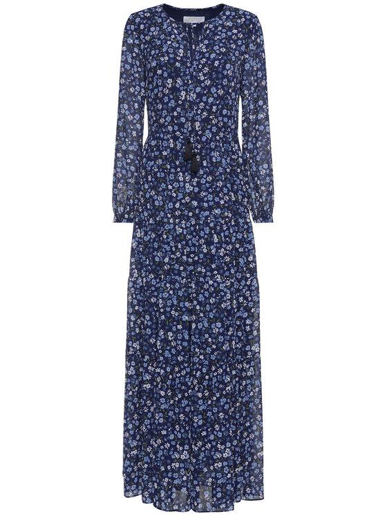 MICHAEL Michael Kors MICHAEL Michael Kors Φόρεμα καθημερινό MS08ZRJE7V Σκούρο μπλε Regular Fit