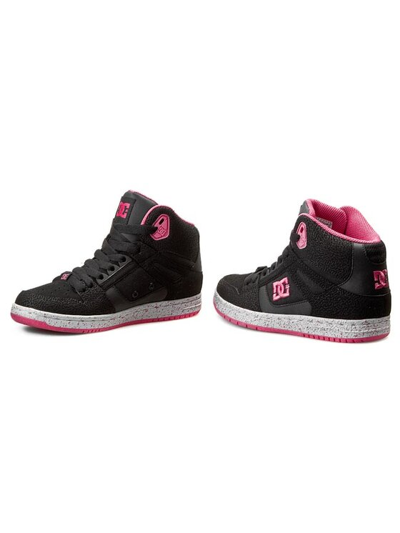 DC DC Sneakersy Rebound High Se 320028 Czarny
