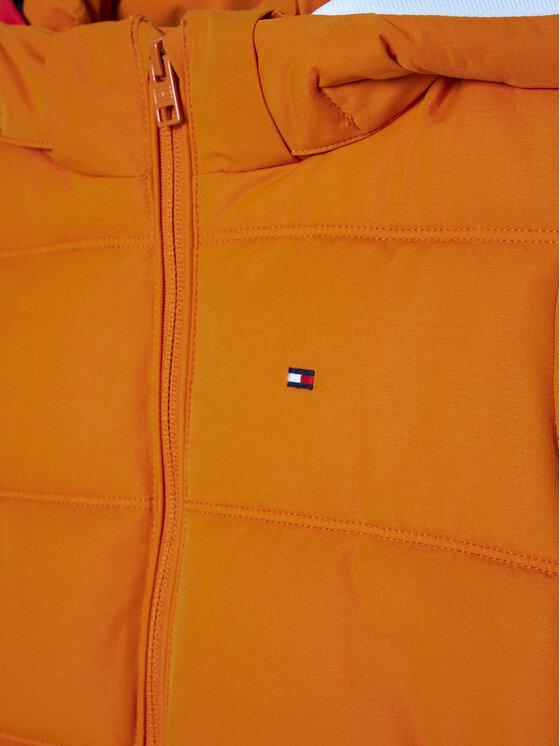 Tommy Hilfiger Tommy Hilfiger Kurtka puchowa Essential KB0KB05982 M Pomarańczowy Regular Fit