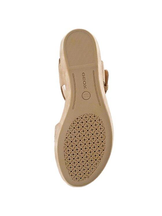 Geox Geox Sandále D Jalia B D52V1B 00022 C6738 Béžová