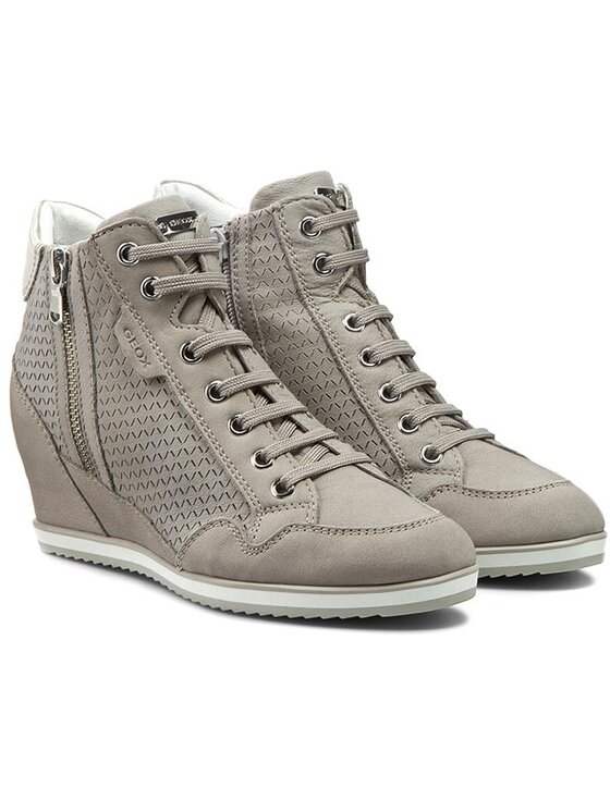 Geox Geox Sneakersy D Illusion A D6254A 000LT C1010 Szary