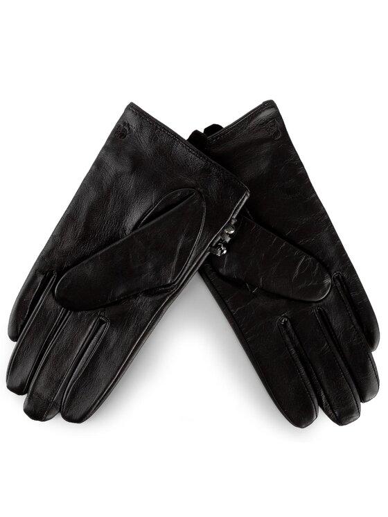 KARL LAGERFELD KARL LAGERFELD Dámske rukavice 76KW3604 Čierna