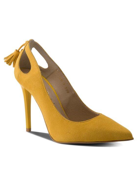 Sergio Bardi Sergio Bardi Обувки на ток Fontanella SS127344418TP Жълт