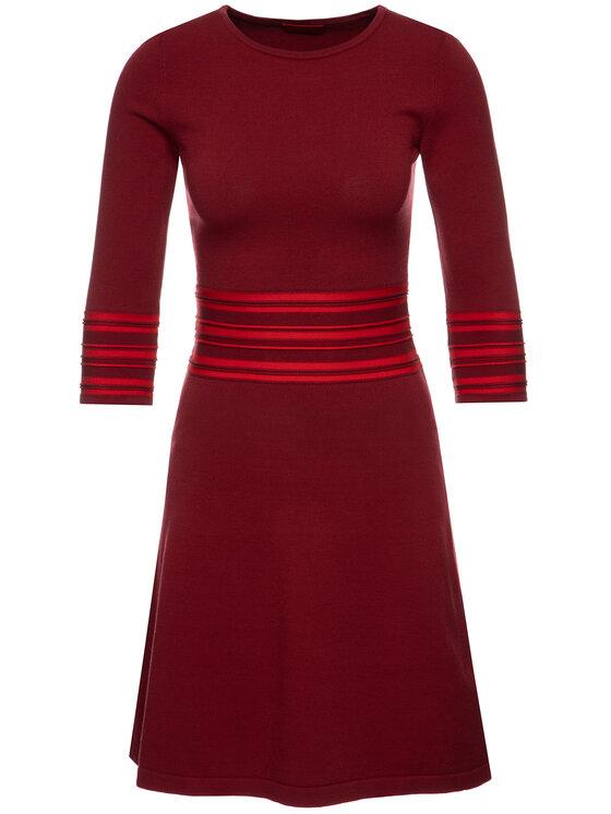 Hugo Hugo Trikotažinė suknelė 50413901 Bordinė Regular Fit