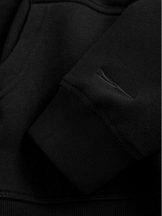 Sprandi Sprandi Bluza SS21-BLK002 Czarny Regular Fit