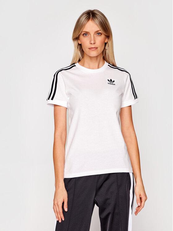adidas adidas T-shirt 3 Stripes Tee GN2913 Bijela Regular Fit