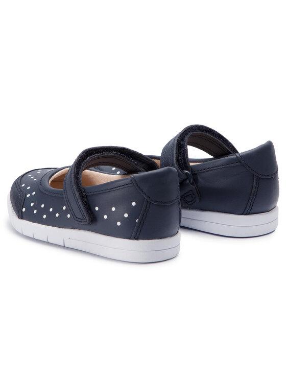 Clarks Clarks Обувки Emery Halo T 261411716 Тъмносин