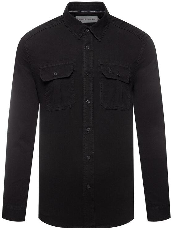Calvin Klein Jeans Calvin Klein Jeans Koszula J30J314162 Czarny Regular Fit