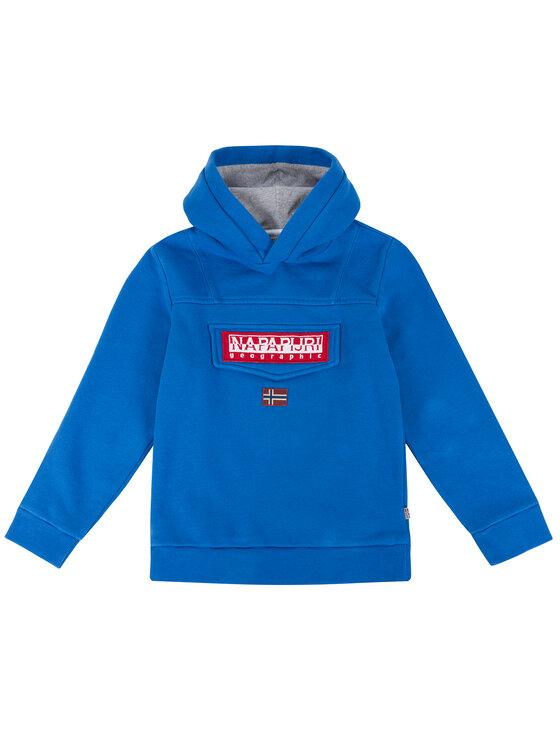 Napapijri Napapijri Sweatshirt Burgee N0YI7D Blau Regular Fit