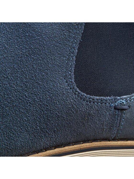 TOMMY HILFIGER TOMMY HILFIGER Μποτάκια με λάστιχο Dunn 3B FM56818817 Μπλε