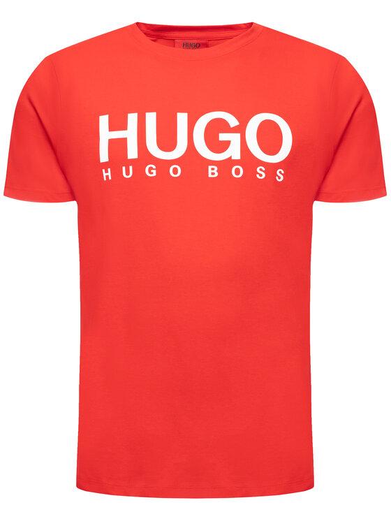 Hugo Hugo Tričko 50387414 Červená Regular Fit