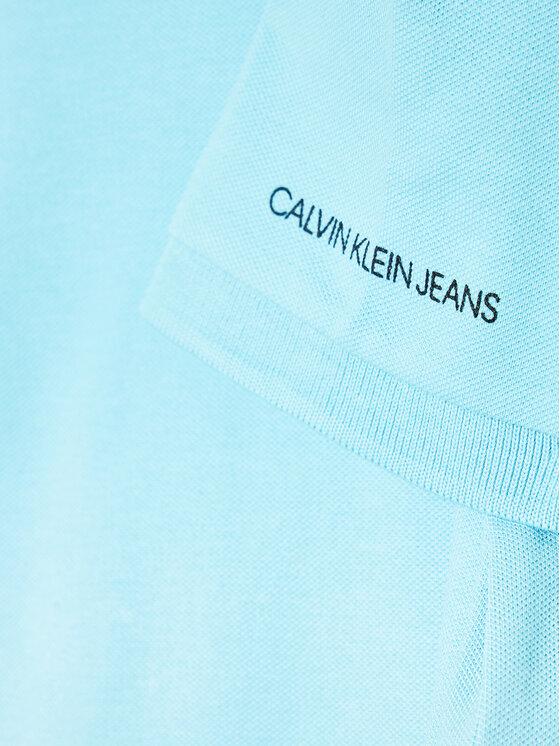 Calvin Klein Jeans Calvin Klein Jeans Polo Monogram Chest IB0IB00733 Niebieski Regular Fit