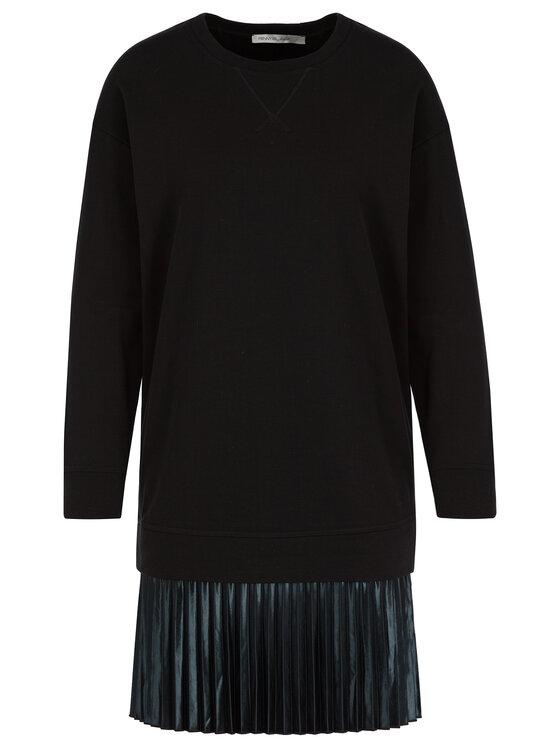 Pennyblack Pennyblack Úpletové šaty Ramato 36249919 Čierna Regular Fit