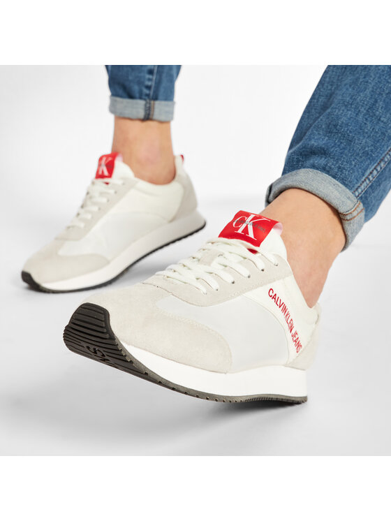 Calvin Klein Jeans Calvin Klein Jeans Laisvalaikio batai Jerrold S0581 Balta