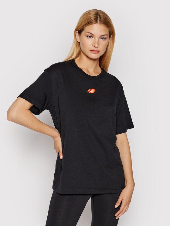 Nike Nike T-Shirt Sportswear DB9817 Czarny Loose Fit