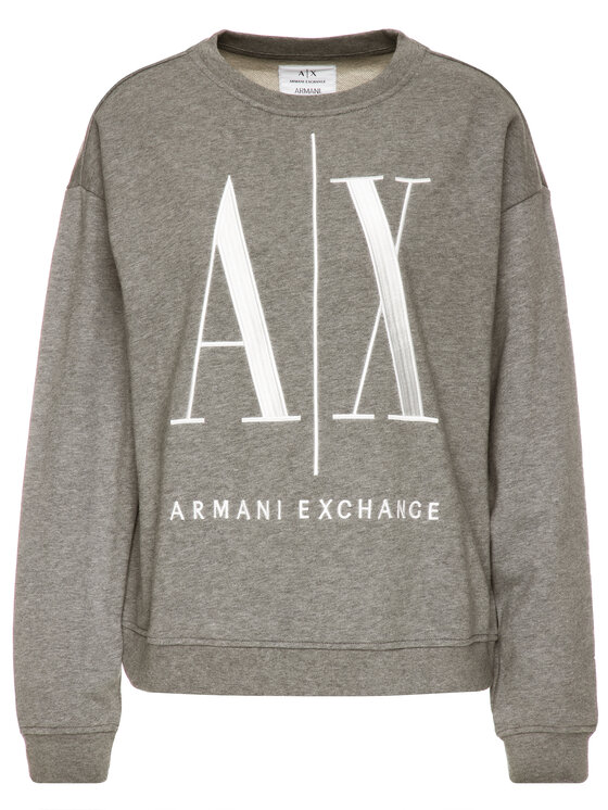 Armani Exchange Armani Exchange Felpa 8NYM02 YJ68Z 3930 Grigio Regular Fit