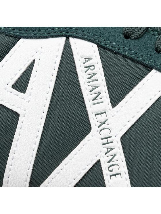Armani Exchange Armani Exchange Sneakersy XUX017 XV028 A133 Zielony