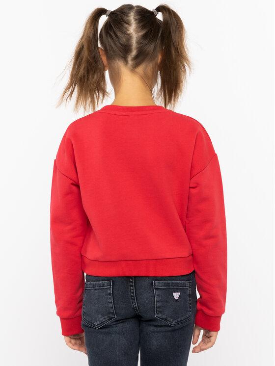 Guess Guess Sweatshirt J91Q10 K8D80 Rot Regular Fit