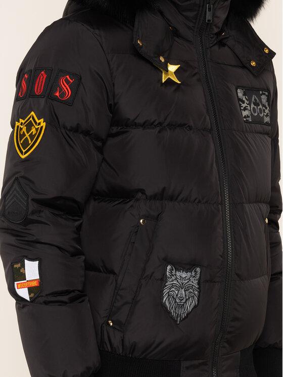 Moose Knuckles Moose Knuckles Μπουφάν πουπουλένιο Colinton MK8572MPB Μαύρο Regular Fit