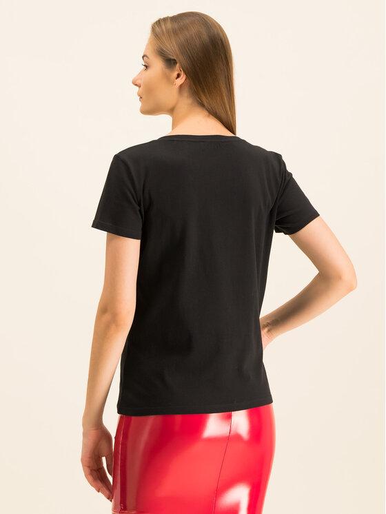 Guess Guess T-Shirt W94I78 K75R0 Czarny Regular Fit