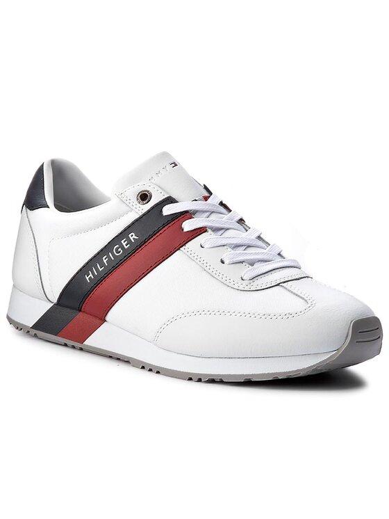 Tommy Hilfiger Tommy Hilfiger Laisvalaikio batai Maxwell 12C2 FM0FM00613 Balta