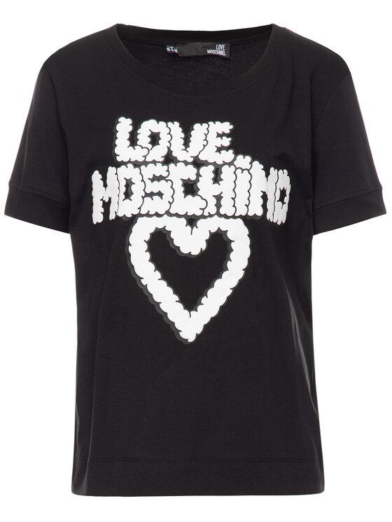 LOVE MOSCHINO LOVE MOSCHINO Tricou W 4 G86 02 M3517 Regular Fit