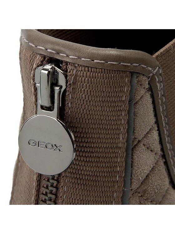 Geox Geox Μποτάκια με λάστιχο D New Club I D5458I 02148 C1018 Καφέ