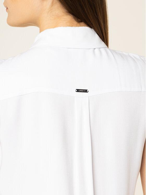 Guess Guess Top Sl Madinah W01H84 WC9Z0 Biały Regular Fit