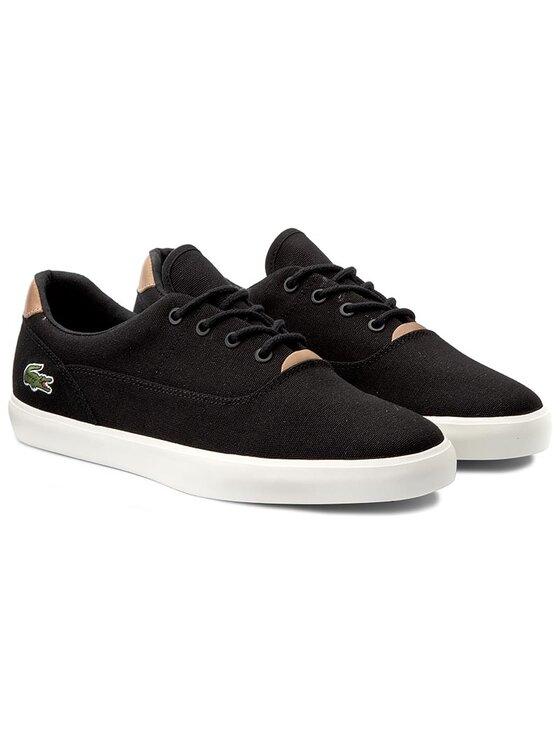 Lacoste Lacoste Πάνινα παπούτσια Jouer 316 1 Cam 7-32CAM0092024 Μαύρο
