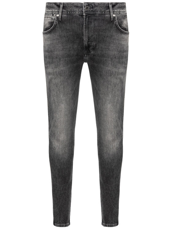 Pepe Jeans Pepe Jeans Blugi Smith PM204890 Gri Relaxed Fit