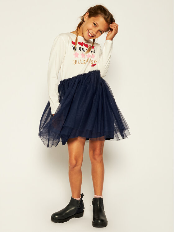 Billieblush Billieblush Sukienka codzienna U12578 Kolorowy Regular Fit