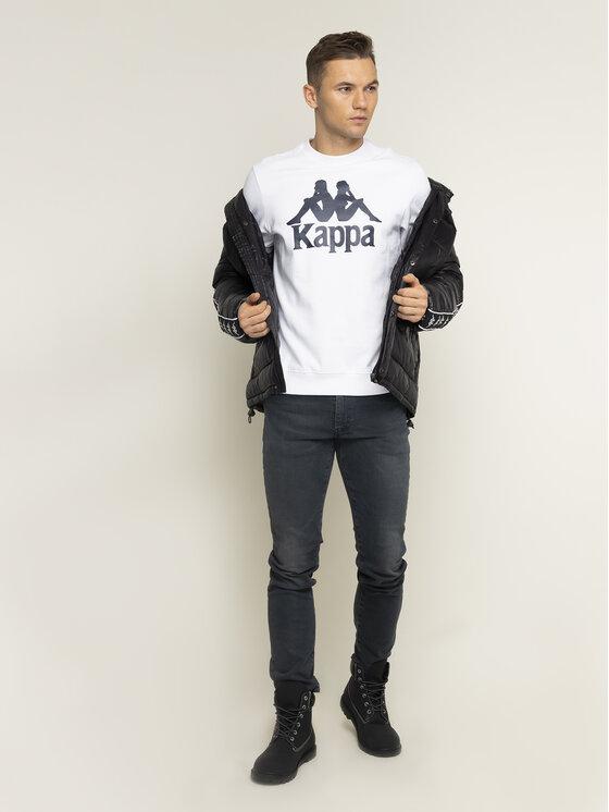 Kappa Kappa Суитшърт Sertum 703797 Бял Regular Fit