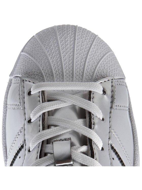 adidas adidas Buty Superstar W CG3681 Srebrny