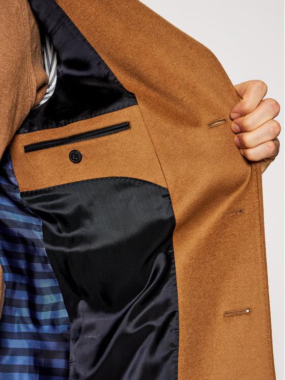 Tommy Hilfiger Tailored Tommy Hilfiger Tailored Vilnonis paltas Wool Blend TT0TT08117 Ruda Regular Fit