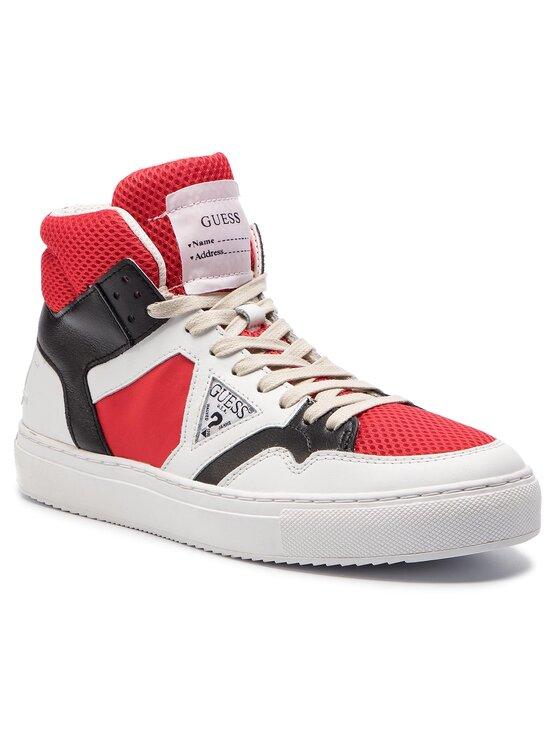 Guess Guess Sneakersy Bruce FM6BRU LEA12 Bílá